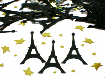 Personalised Party Eiffel Tower Decorations